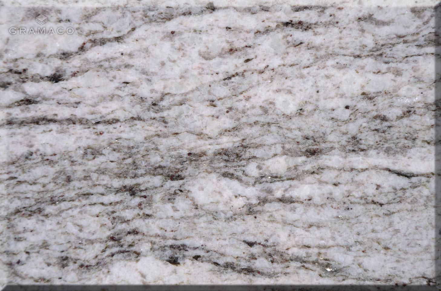 White G Granite Kitchen